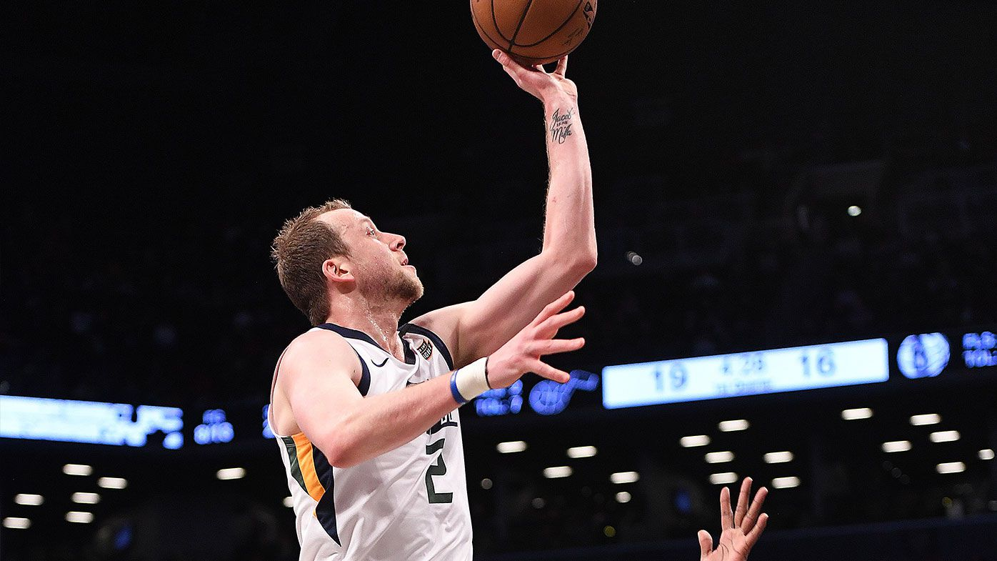 Jazz's Ingles equals NBA career-high again
