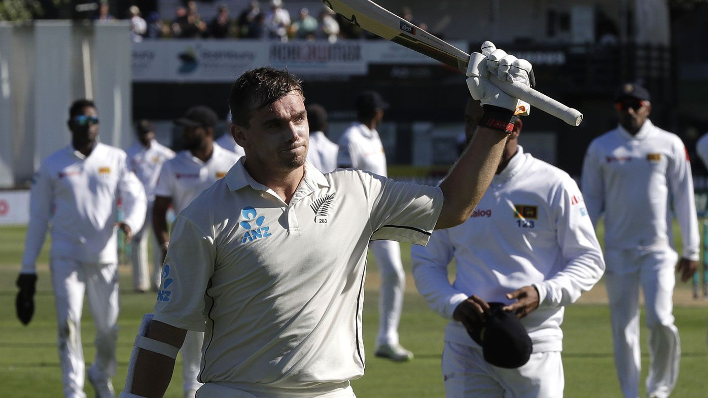 Tom Latham carries his bat for Test world record with unbeaten 264