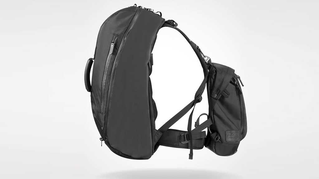 Anti pickpocket modular travel pack system