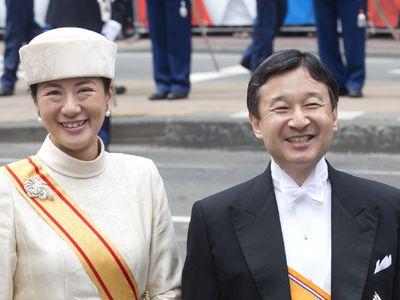 Crown Prince Naruhito and Crown Princess Masako, 28 years