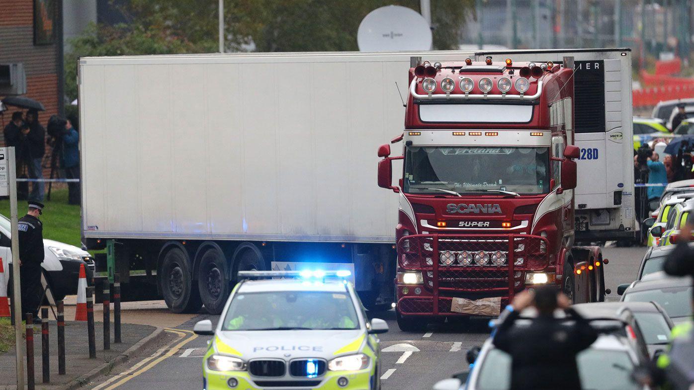 New arrest over UK migrant truck deaths