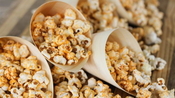 Alana's spicy popcorn