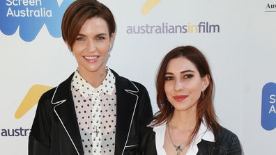 Ruby Rose and Jessica Origliasso