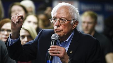 Bernie Sanders is the narrow favourite in the Iowa caucus.