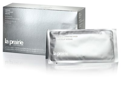 "<a href=""http://shop.davidjones.com.au/djs/en/davidjones/swiss-cellular-white-intensive-illuminating-mask"" target=""_blank"">Swiss Cellular Intensive Illuminating Mask, $265, La Prairie&nbsp;</a>"