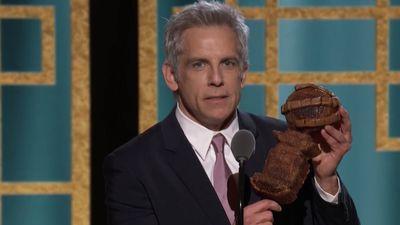 Ben Stiller's award-shaped banana bread