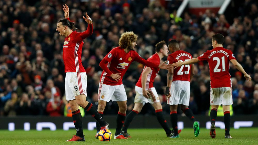 Klopp bemoans United's long ball tactics