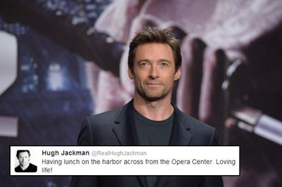 """Aussie hunk and fan-favourite, Hugh Jackman, landed himself in hot water back in 2009, when he sent out a tweet misnaming the Sydney Opera House as the """"Opera Center""""! <br/><br/>The post was quickly taken down and Jackman was forced to fess-up that a marketing team handled his Twitter account and had misheard his dictation over the phone."""