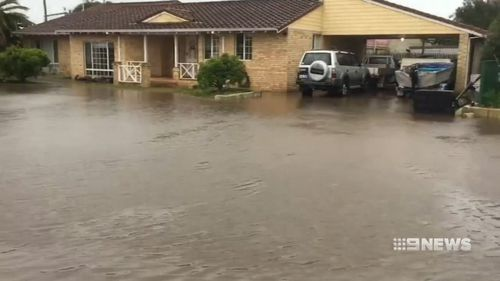 More than 40,000 properties were left without power. (9NEWS)