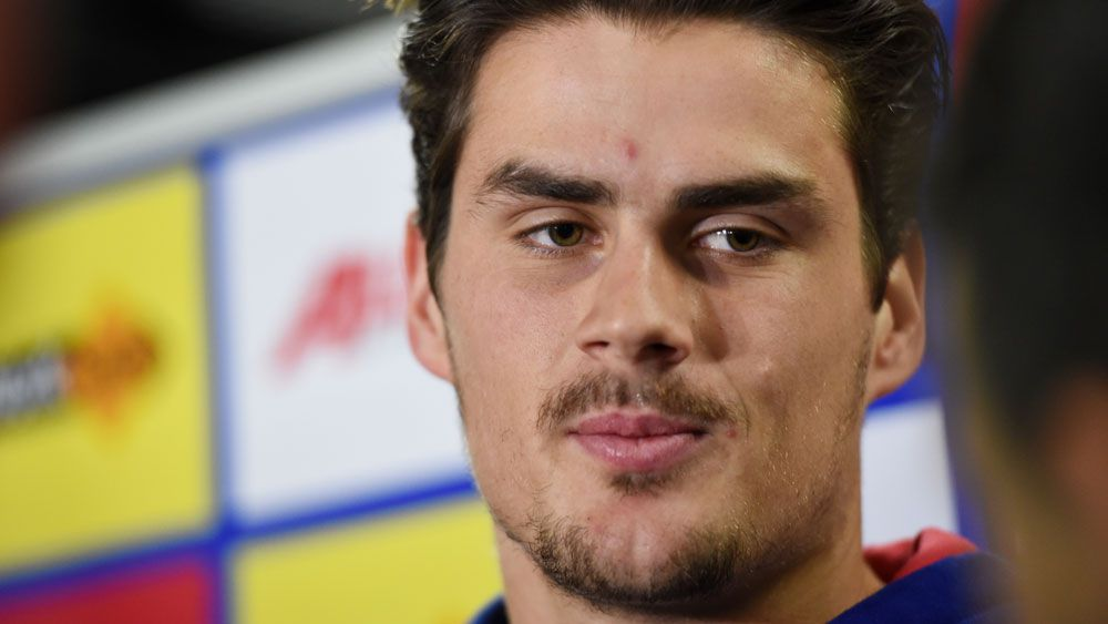 Western Bulldogs star Tom Boyd is being treated for clinical depression. (AAP)