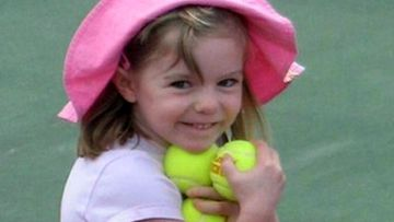British girl Madeleine McCann before she went missing from a Portuguese holiday complex in May 2007.