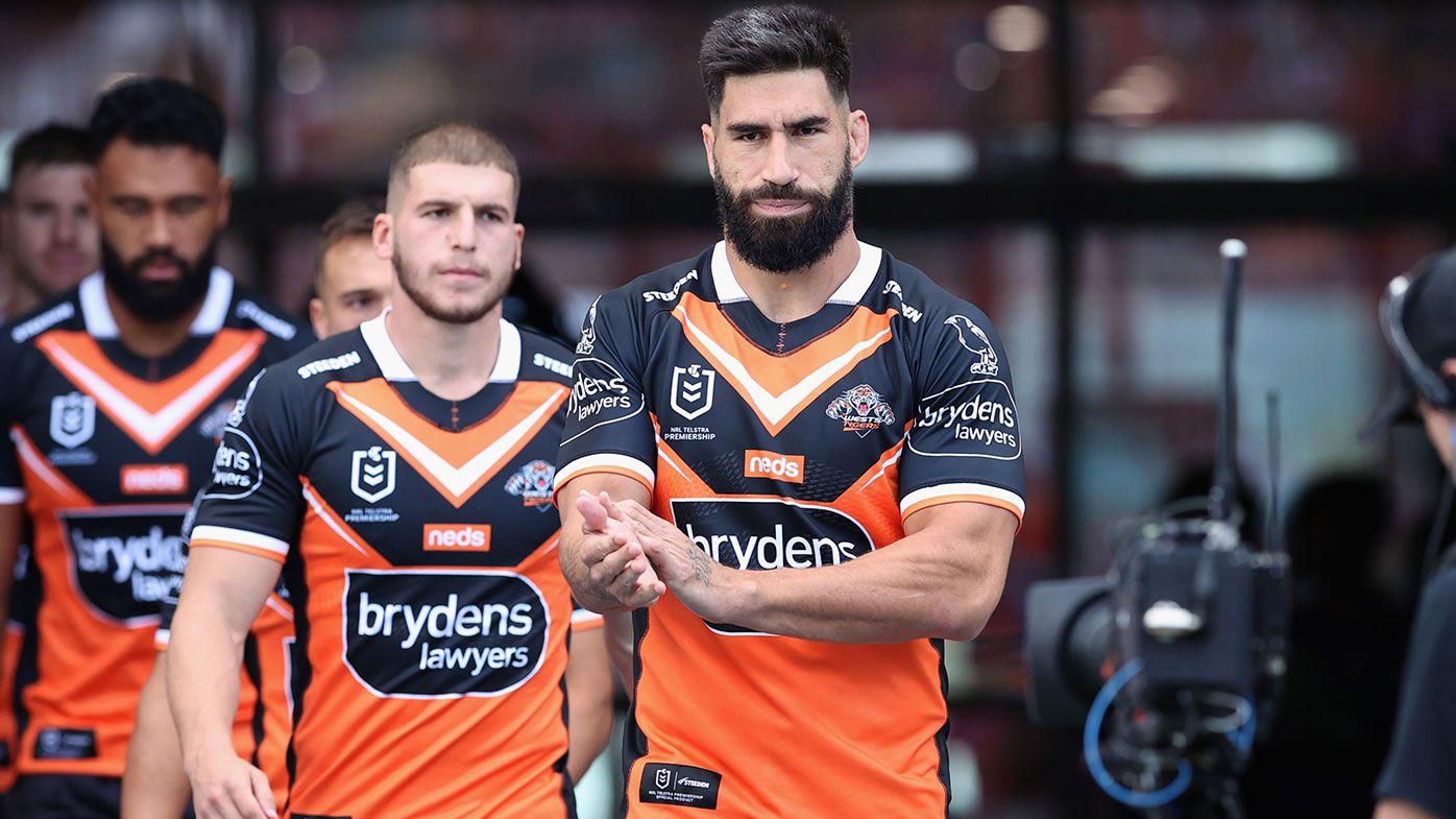 'It will be like losing a friend': Wests Tigers skipper James Tamou throws support behind under-fire Michael Maguire