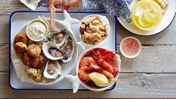 Party platters: Seafood platter