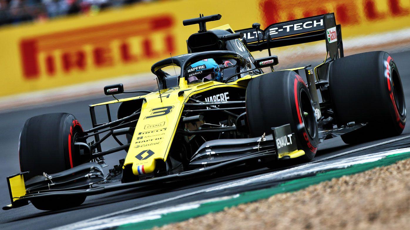 Daniel Ricciardo seventh on grid for British GP, funny exchange with Max Verstappen