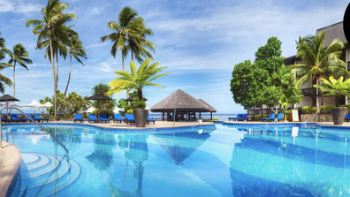 The vouchers can be used on both domestic and international destinations. Pictured above is Fiji.