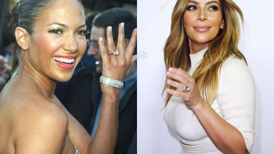 <br/>Our fave serial celeb daters LOVE their diamonds! So much so, they've kept the ring bling gifted to them by former lovers well after the divorce papers have been signed. <br/><br/>But which Tinseltowner has the biggest sparkler stash... and whose collection is a little dismal? Flick through to find out... <br/><br/>Image source: Getty/Splash<br/><br/>Author: Carmarlena Murdaca