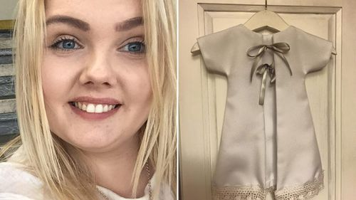 Donations pour in for UK woman transforming wedding dresses into burial gowns for stillborn and miscarried children