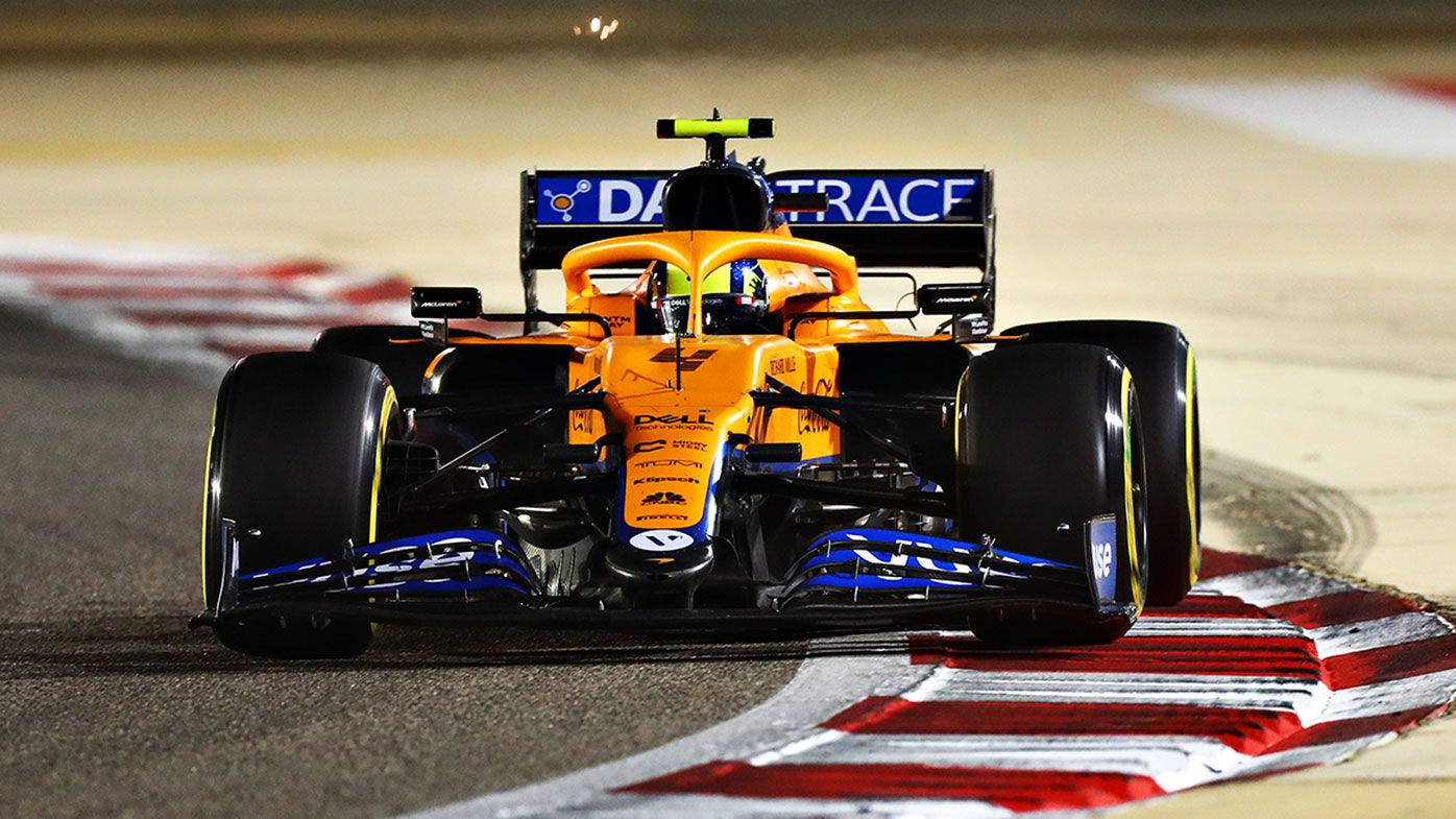 Lando Norris finished fourth for McLaren in Bahrain.