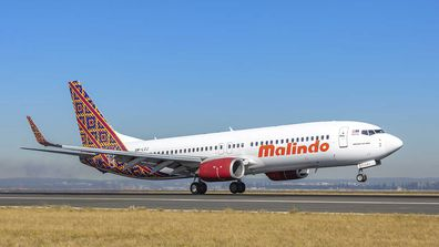 Malindo Air touches down at Sydney Airport, August 15, 2019