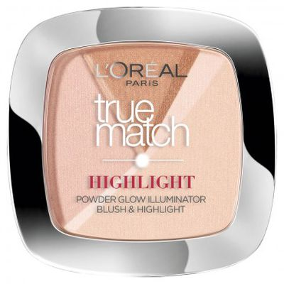 "<a href=""https://www.priceline.com.au/l-oreal-paris-true-match-illuminating-powder-9-g"" target=""_blank"">L'Oreal Paris True Match Illuminating Powder 9G in Golden Glow, $19.95</a>"