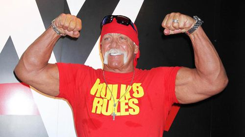 Hulk Hogan refuted his own claim yesterday that he had a 25cm penis. (AAP)
