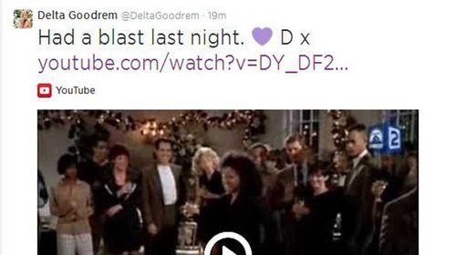 Delta hits back at dancing tweet