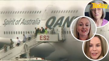 Passengers send heartwarming messages to Qantas pilot who saved their life