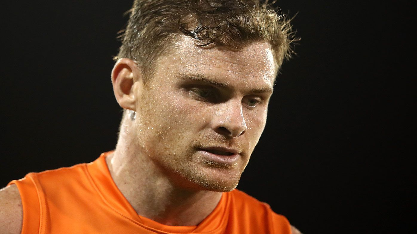 GWS defender Heath Shaw