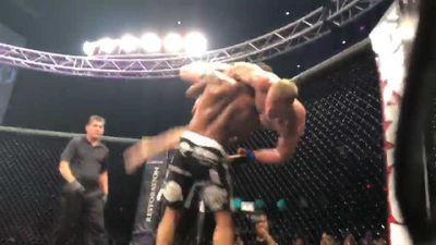 UFC veteran signs off with arm-breaking slam in retirement fight
