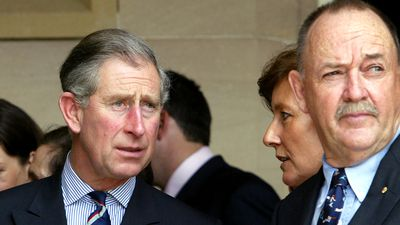 The day Ian Kiernan stopped gunman 'shooting' Prince Charles