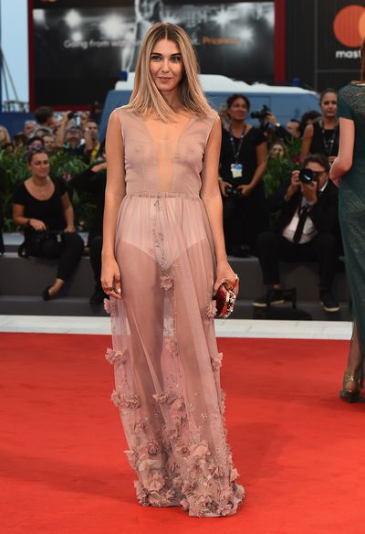 Martina Pinto at the 2017 Venice Film Festival