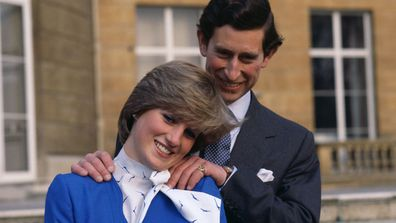 Prince Charles and Princess Diana's engagement portrait, 1981