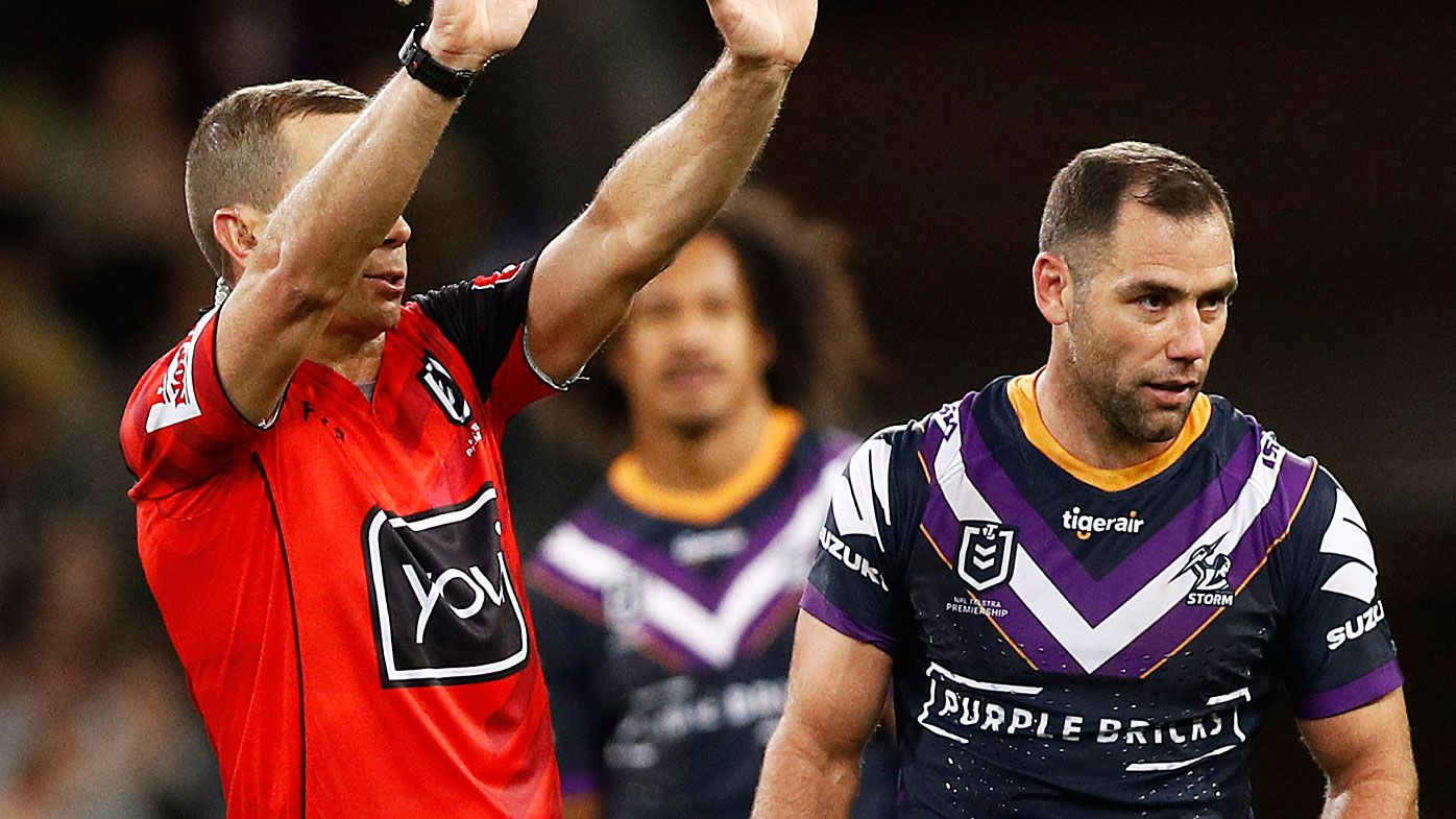 Storm skipper Cameron Smith avoids NRL ban over Reed Mahoney slap