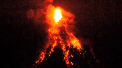 Humans flourished during volcanic winter, study says