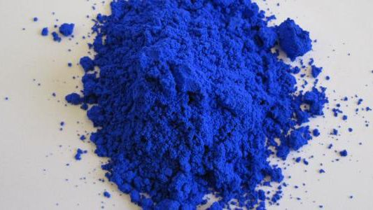 Scientists have discovered a new shade of blue by accident