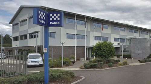 A man was arrested and taken to Lake Illawarra Police Station for allegedly stalking two teenage girls.