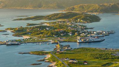 Sommarøy -- meaning Summer Island -- is an island in West Tromsø, around 200 miles north of the Arctic Circle.