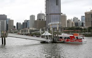 Brisbane's iconic wooden ferries have been taken off the river for urgent maintenance