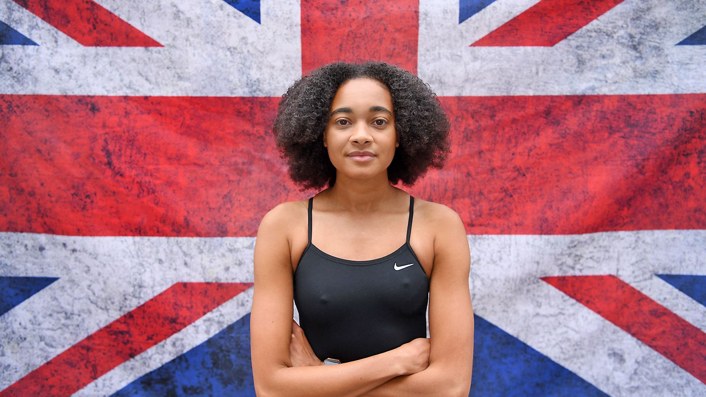 Black British Olympian Alice Dearing banned from wearing swim cap designed for afro