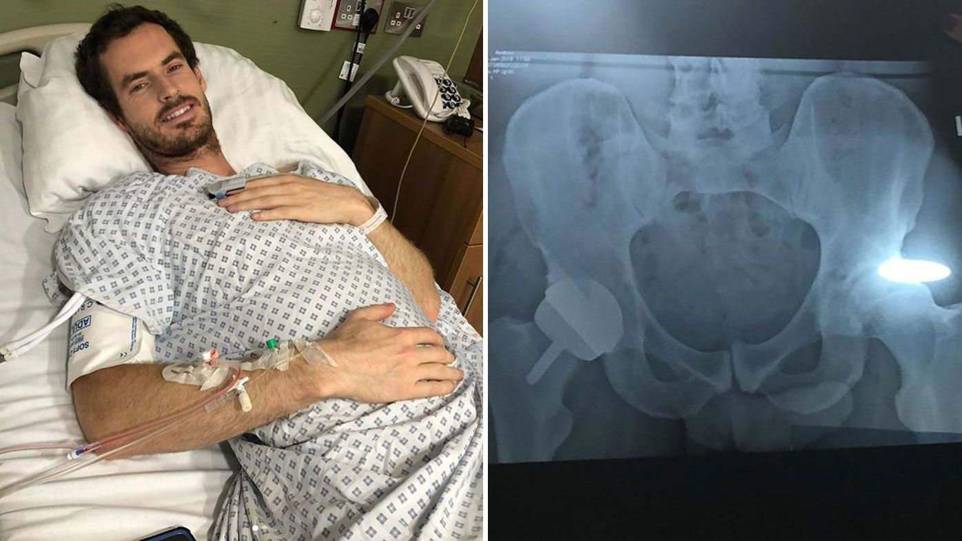 'I now have a metal hip': Andy Murray undergoes hip resurfacing surgery following emotional Australian Open exit