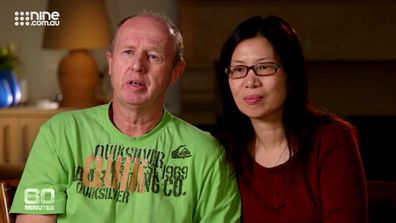 David Farnell and his wife, Wendy, tried to explain why they had not brought Gammy back home to Western Australia.