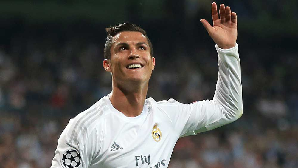 Cristiano Ronaldo. (AAP)