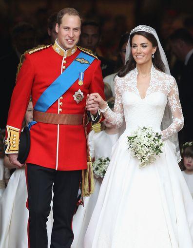 Meghan Markle and Prince Harry at the Royal Wedding