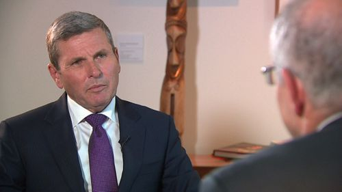 The Prime Minister told 9News Political Editor Chris Uhlmann he was frustrated by the states having control of gas supply.