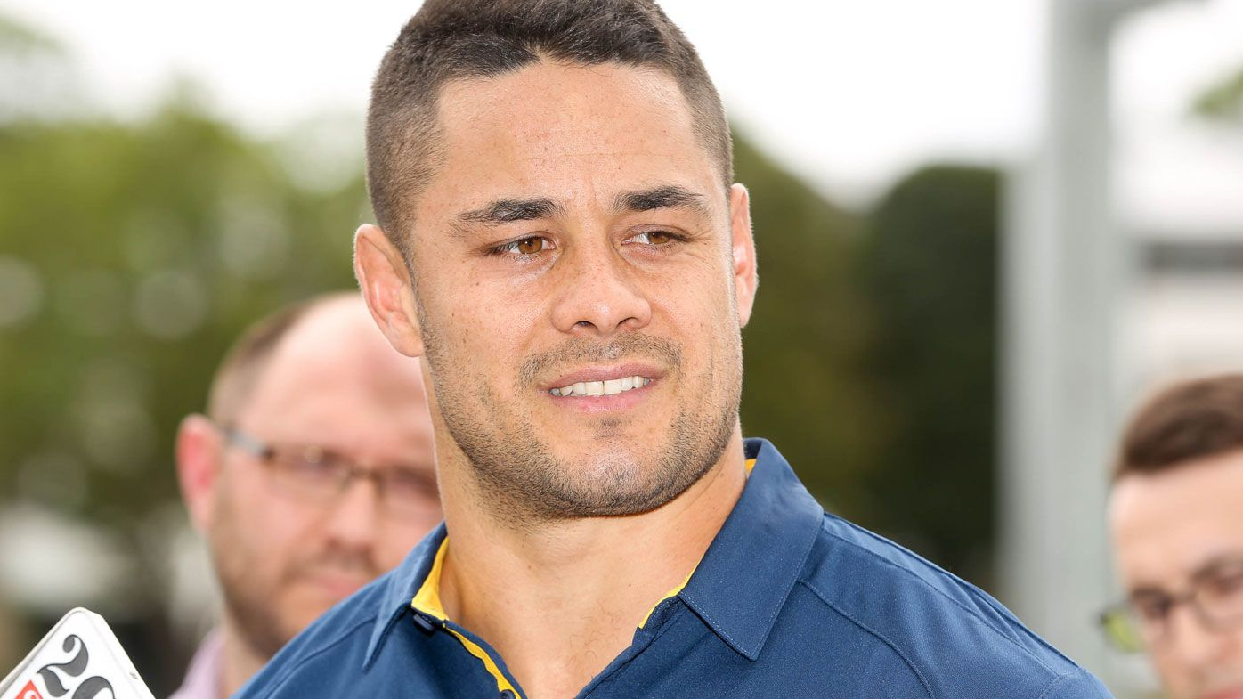 Jarryd Hayne proving to be a positive influence at the Eels. (AAP)