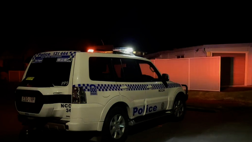 Police establish crime scene following fatal shooting in Newcastle