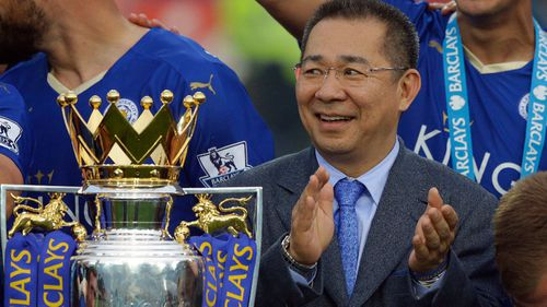 Vichai Srivaddhanaprabha was known for flying his helicopter from the stadium.
