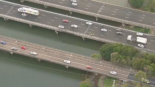 Traffic in the area is expected to become heavy this morning. (9NEWS)