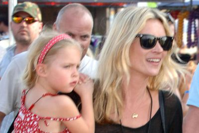 Model <b>Kate Moss</b>' daughter, <b>Lila Grace</b>, is only 8 years old, but she's already on the way to being a top model. Kate reportedly started giving her daughter modelling lessons to perform a special catwalk show for <b>Sadie Frost</b>'s daughter, Iris. Lila Grace is showered with designer clothes, enjoys totally over the top birthday parties and holidays around the world. The latest rumour is that Kate's building her little girl an in house dance studio, to support her talents in ballet.