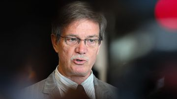Leader of the State opposition in Western Australia, Mike Nahan speaks during the WA Liberal State Conference. (AAP)